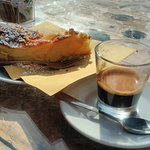 Coffee and Apple Pie, the best way to start the day..
