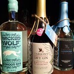 A small selection of our Gins