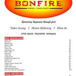 BONFIRE MENU PAGE 1
