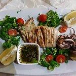 Il nostro pesce del giorno totano fresco grigliato