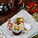 десерт Фондан