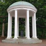 Old Well, the University's logo.