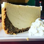 The Key Lime Pie is huge!