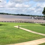 View of Lake Blackshear from convention center.