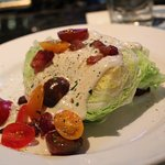 wedge blue cheese salad (Split for 2)
