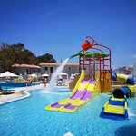 Kids section of the waterpark
