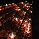 Por 1 Euro você pode acender uma vela