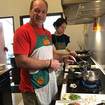 Hubby getting into cooking