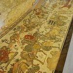 mosaico con scene