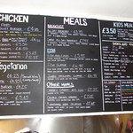Eat in Menu Boards