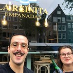 Amazing empanadas and great vibes !! Will be back as soon as I can !! Gracias chicos !!!