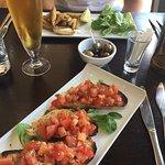 Bruschetta & whitebait starters
