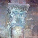Chapiteau de la nef avec animaux