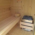 GB Open Air Spa Sauna