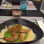 feuilleté de poulet sauce cajun