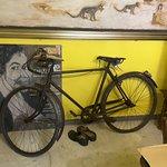 La sua bicicletta