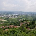 Beautiful view of the Langhe.