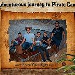 Adventurous journey to Pirate Cave.