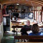 Very quaint railway carriage interior