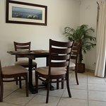 Guinea Fowl - open plan dining area