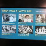 Touch the pic and it tells you about the Harvey Girl