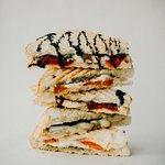 We have a delectable selection of Panini's both savory and sweet!
