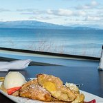 Dessert and a view to savour