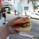 The falafel burger