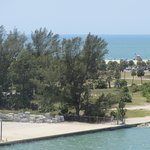 Northern Part of Sand Key Park: View from Sand Key Bridge (Close Up)