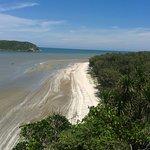 Widok3 z trasy na morze