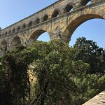 Section of Pont du Gard (2nd and 3rd Levels)