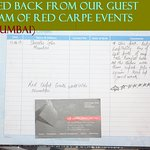 FEED BACK FROM OUR GUEST TEAM OF RED CARET EVENTS PVT L.T.D FROM (MUMBAI)