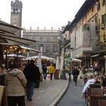Piazza and market