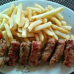 Silver Lake Beef & Kebab with fritte, both were delicious