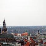 Blick auf Riga vom Observationsdeck