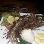Whole fish, was tasty!