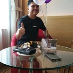 My 2nd stay with my kiddos at doubletree by the hilton.A surprise birthday for my son.He's surpr