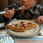 Kids love pizza. So do I.