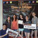 Wow! This group was such a smart bunch, and it shows in their time and victorious smiles!