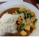 Pad Prink with tofu