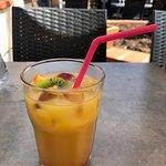 cocktail portofino sans alcool à base de fruit