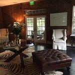 Lobby area at the club house