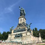 Statue of Germania commemorating the unification of Germany.