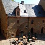 Burg Kriebstein - Courtyard restaurant