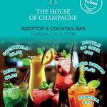 The House of Champagne Bar