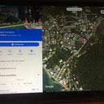 Phptographed screenshots of actual location of Kamares Restaurant Bar Pool Complex. Looks great