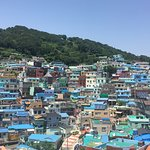 An overall view of Gamcheon Culture Village