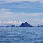 Island outcrops