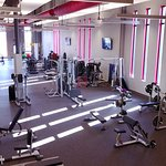 The 18,000 sq. ft. fitness center
