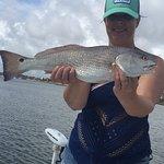 Wow nice Redfish caught on the Hot Fun